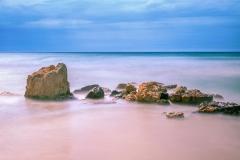 Sani Beach - Sand , Rocks and Sea